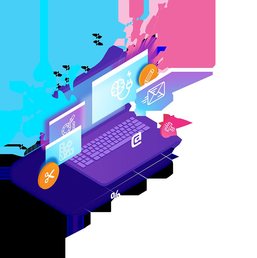 Создание сайтов - Креативная студия ENTERNET